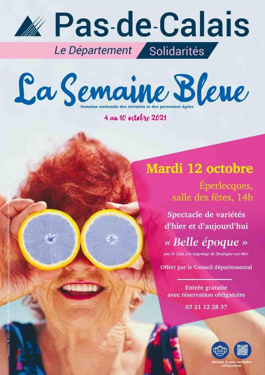 Affiche semaine bleue 2021 eperlecques
