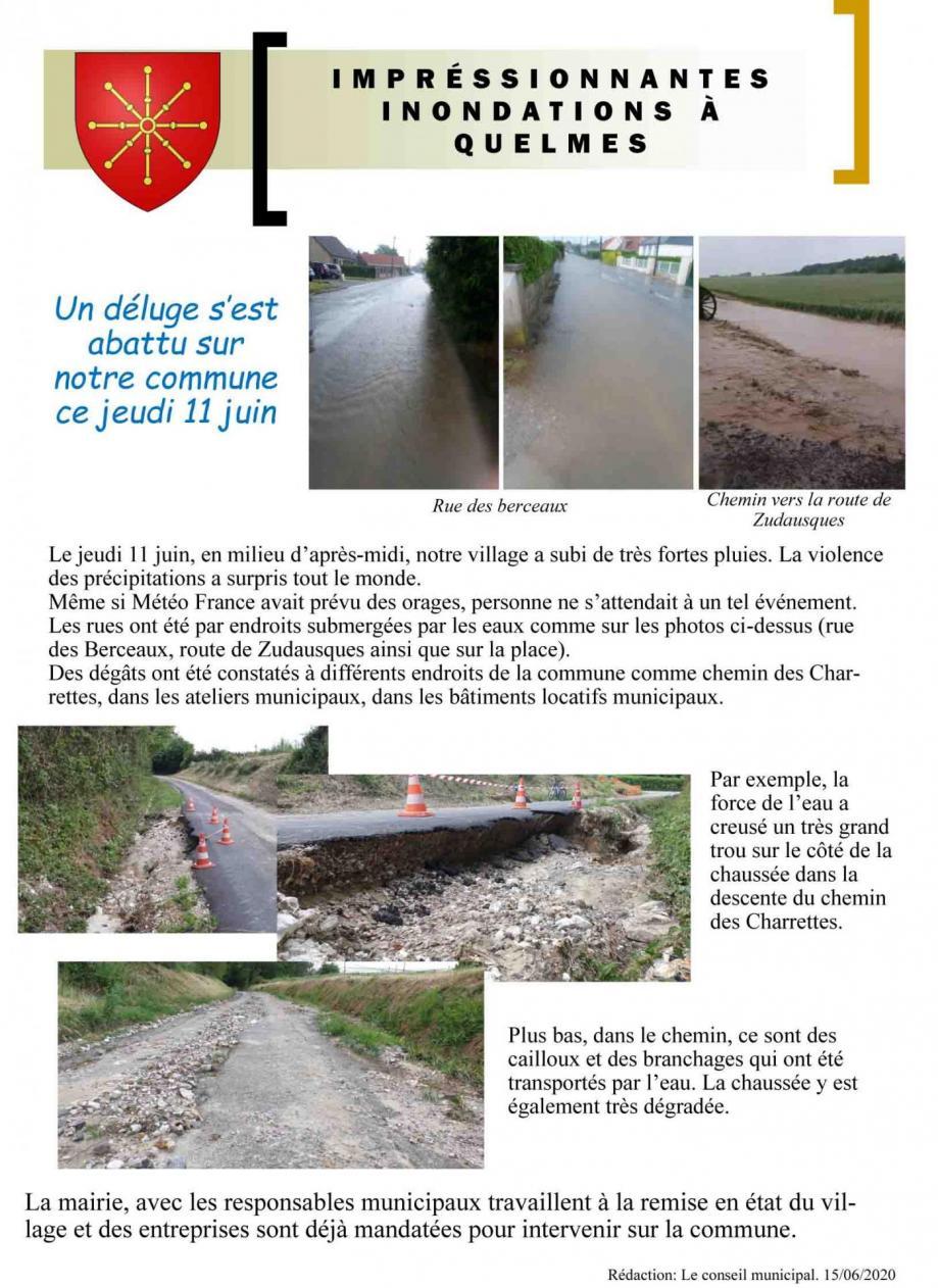 Inondations quelmes